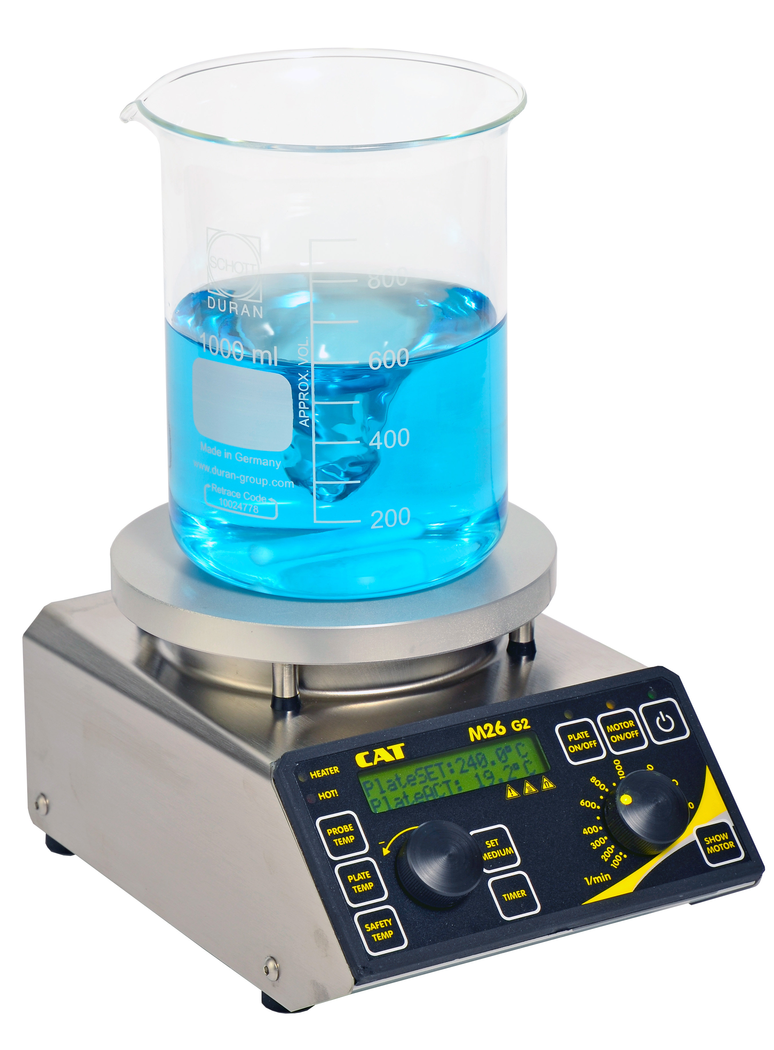 M26G2 Hotplate Safety Magnetic Stirrer