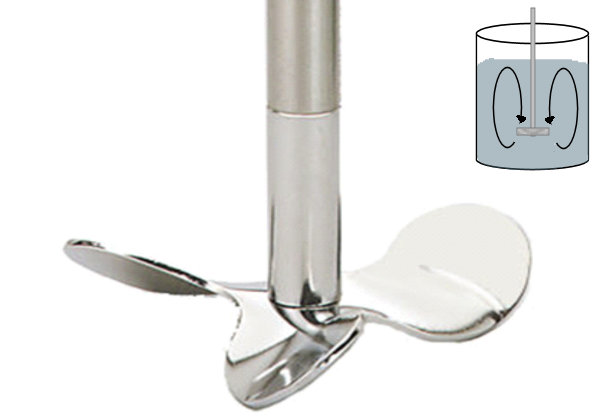 CAT Stainless steel stirring paddles